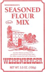 Weisenberger Seasoned Flour Mix 5.5oz pouch