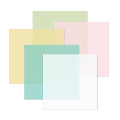 Sugarplum Vellum Pastel Paper Pack (5/pk) by Creative (Pastel Vellum Papers)