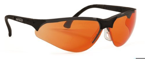 Terminator UV-400 Safety Glasses for Blue Light and UV Orange