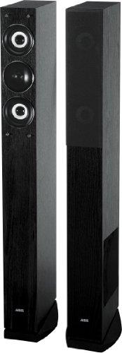 AEG LB 4710 3-Wege-Bassreflex-Lautsprecherboxen (500 Watt PMPO Verstärker, Lautsprecherkabel, Paar) schwarz