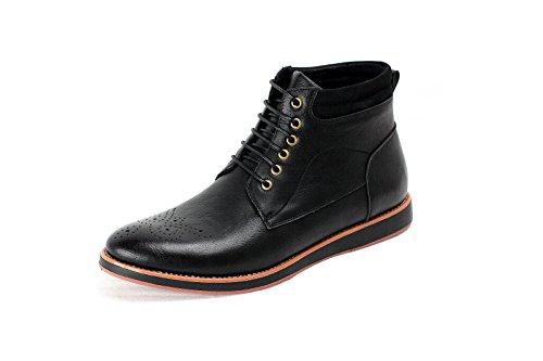 Herren Stiefeletten Chelsea Designer Smart Schuhe Schwarz