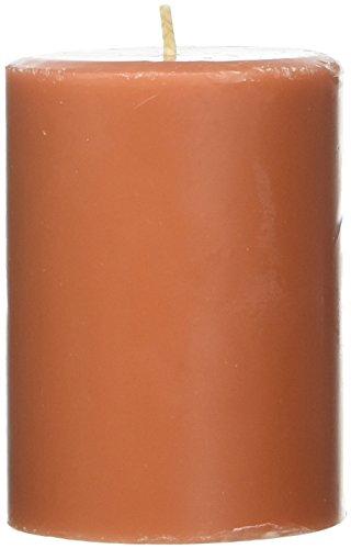Northern Lights Candles Roasted Pumpkin Fragrance Palette Pillar Candle, 3 x 4