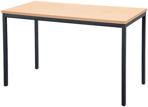 Mesa de escritorio o reuniones Niceday Rectangular haya 180 x 75 x ...
