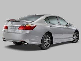 Honda Genuine Accessories 08F03-T2A-140 Modern Steel Metallic Rear Underbody Spoiler for Select Accord Models