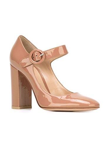 Bout Rond Janes Escarpins Beige EDEFS Mary Talon a Femme Cheville Bride Mariage Pompes de Mariee Boucle Chaussures FBdXqxHYwq