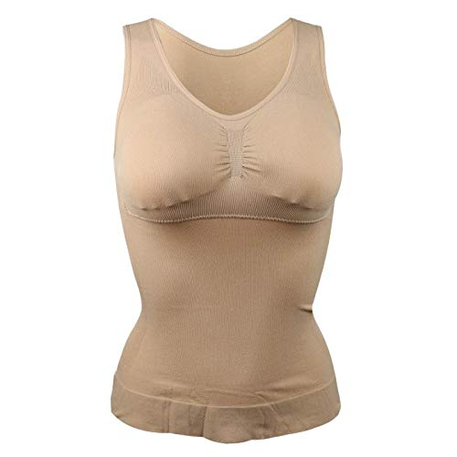 295c614bd1b4d HITSAN INCORPORATION Hot Shaper Slim Up Lift Plus Size Bra Cami Tank Top  Women Body Removable