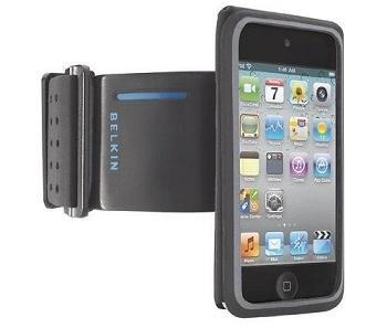 Belkin FastFit Armband for Apple iPod Touch 4G, Black/Blue