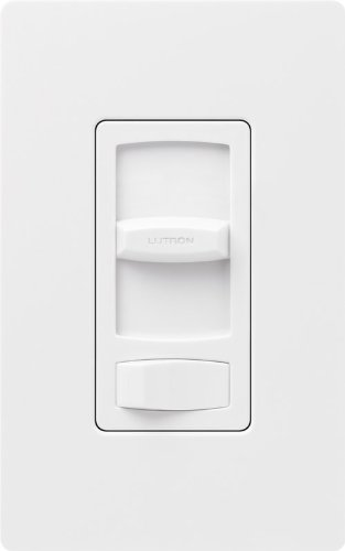 Lutron CTFSQ-F-WH Fan Speed Control, Skylark Contour 1.5A 3-Way - White by Lutron