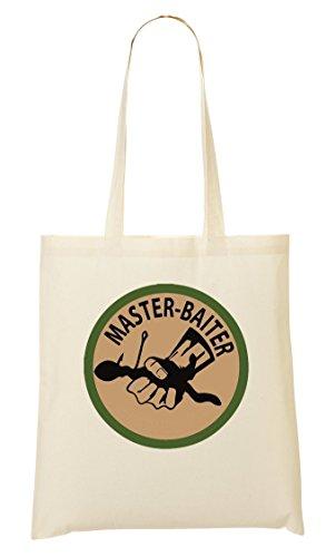 CP Master Baiter Cool Expert Angler Logo Bolso De Mano Bolsa De La Compra