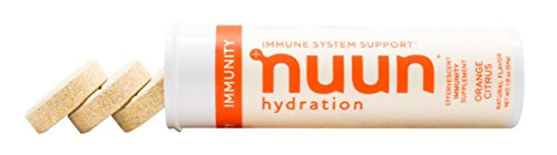 Nuun Immunity: Zinc, Turmeric, Elderberry, Ginger, Echinacea, and Electrolytes for an Anti-Inflammatory and Antioxidant Boost in Immune Support and Hydration, Orange Citrus 8-Pack by Nuun (Image #5)