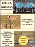 Applied Calculus for Business, Social Sciences, and Life Sciences, Preliminary Edition with Answers, Hughes-Hallett, Deborah, 0471177024