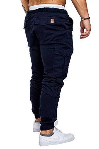 Socluer Homme Pantalons Casual Jeans Sport Jogging Slim Fit Militaire Cargo Montagne Baggy Pants Multi Poches Grande…