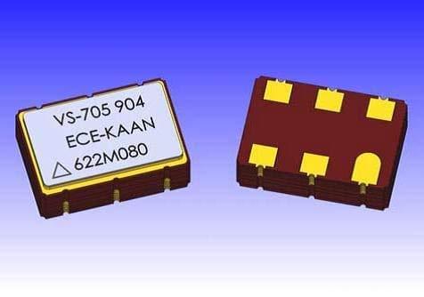 VCSO Oscillators 3.3V LVPECL 100ppm APR 125MHz (VS-705-ECE-SAAN-125M000000)