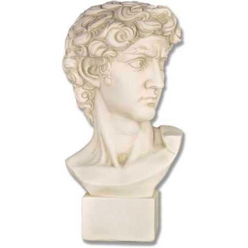 XoticBrands OSDC1101 David Medium 17-Greek and Roman (David Bust)