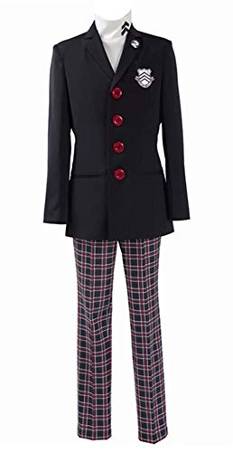 Men's Protagonist School Uniform Persona 5 Halloween Cosplay Costumes