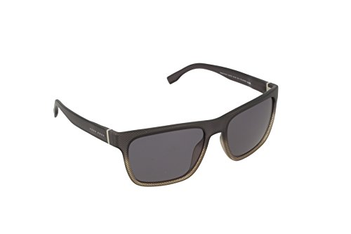 Gris de Unisex Pz Hugo Shaded 0727 Adulto Sol Gafas KAC Grey Text Grey TD Boss 56 Boss S CUw0Pq