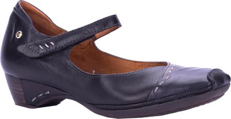 Pikolinos Black Mary pumps Jane Women's Leather Low Gandia Heel ZC7wqgddx