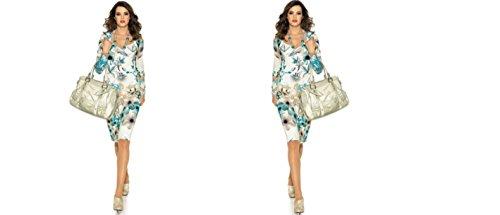 ASHLEY BROOKE Kleid, Stretchkleid, Etuikleid, Damenkleid, Gr. 36
