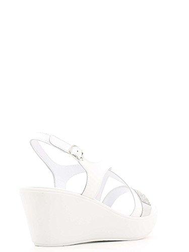 Susimoda 243640 Wedge Sandals Women White nL7Y0ZW5