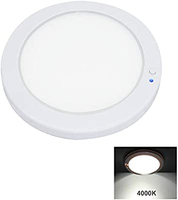 Facon 12.5cm Luz del Panel LED de 12V Luz Interior del techo de la ...