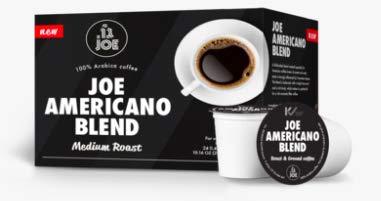(Keurig Single-Serve K Cups Pods from Cafe Joe - Joe Americano Medium Roast Espresso Coffee K Cups Blend (24)