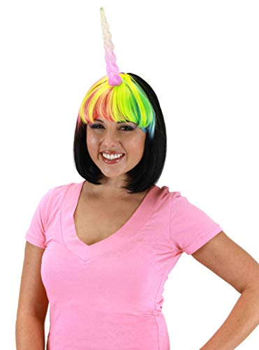 Light Up Multicolor Unicorn Costume Horn for Women by elope -