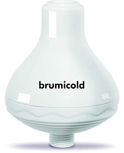 BRUMICOLD SPAIN filtro ducha TAP SPA elimina cloro, metales pesado, microplasticos, ablanda la cal, suaviza pelo y la piel, Ultramontanismo en el bano, ideal para pieles atopicas