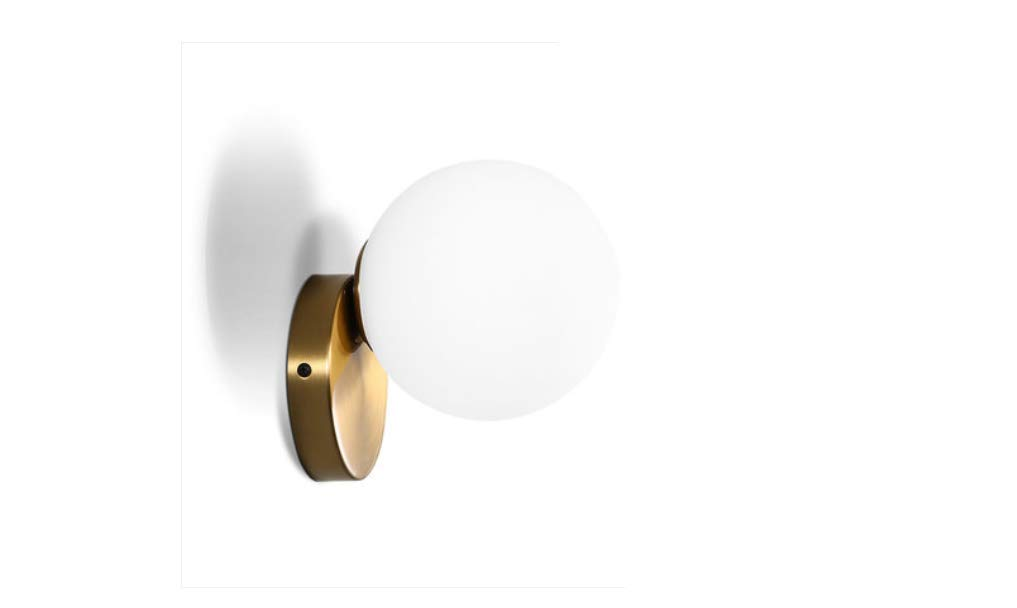 Aussenlampe Wandbeleuchtung Wandlampe Wandleuchte Innen 167X180Mm Nordischen Stil Schmiedeeisen Führte Warmes Bett Schlafzimmer