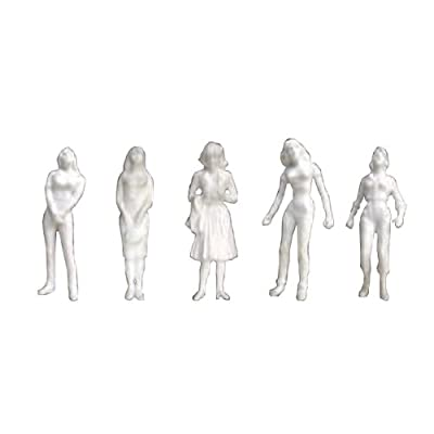 JTT Scenery Products Human Figures: Female Figures (1/48 Scale): Toys & Games