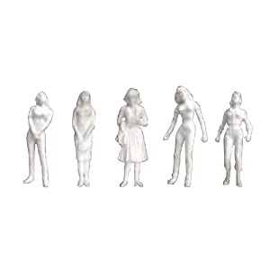 JTT Scenery Products Human Figures: Female Figures (1/48 Scale)