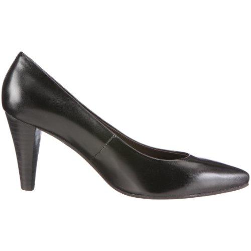 Andrea Conti 0590074 0590074 - Zapatos clásicos de cuero para mujer Negro