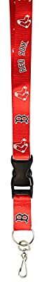MLB Team Lanyard with detachable clip/key ring