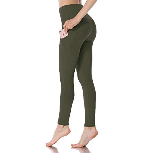HIGHDAYS Yoga Pants for Women with Pocket- Tummy Control High