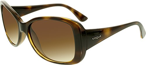 Vogue VO2843S W65613 Tortoise VO2843S Butterfly Sunglasses Lens Category 3 - Vogue Women Glasses