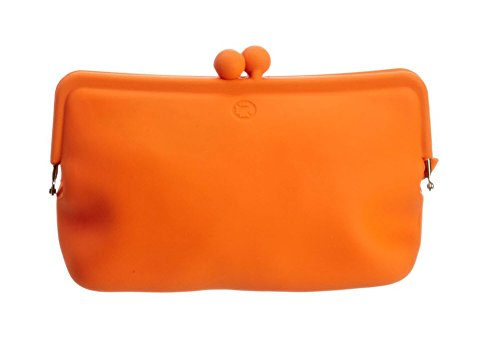 Authentic Silicone wallet Rubber Orange product image