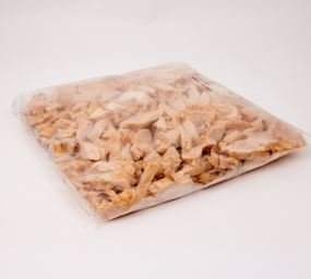 National Steak, Fully Cooked Savory Chicken Breast Strips, 2.5 lb, (4 per case)