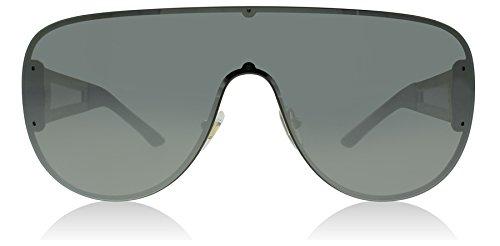 Versace 2166 12526G Pale Gold 2166 Visor Sunglasses Lens Category 3 Lens Mirror