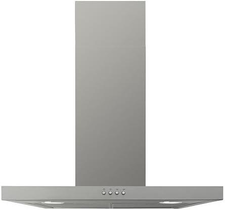 IKEA MOLNIGT - Wall campana extractora montada, acero inoxidable - 60 cm: Amazon.es: Grandes electrodomésticos