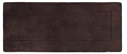 Fabbrica Home Ultra-Soft HD Memory Foam Runner , Coffee Brow