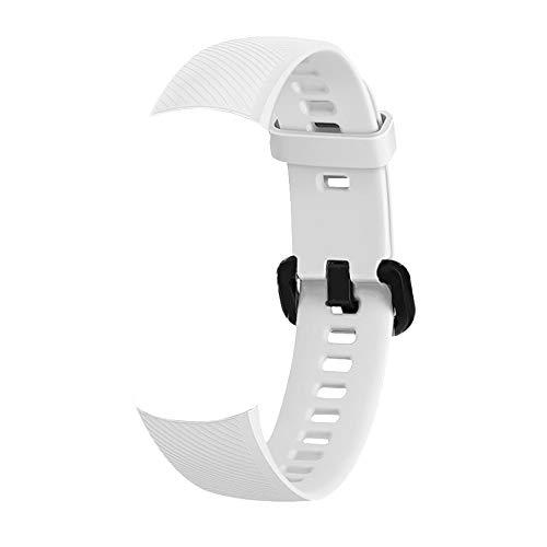 Lepeuxi Smartwatch Band ersatz silikagel Armband Band zubehör Uhr gürtel Frauen männer armbänder für Honor Band 5