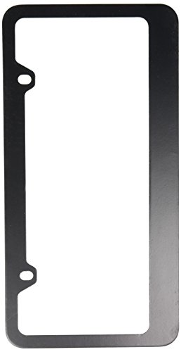 Blank Black Metal License Plate Frame (License Plates Blanks)