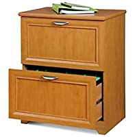 Realspace(R) Magellan Collection 2-Drawer Lateral File Cabinet, 30In.H X 23 1/2In.W X 16 1/2In.D, Honey Maple