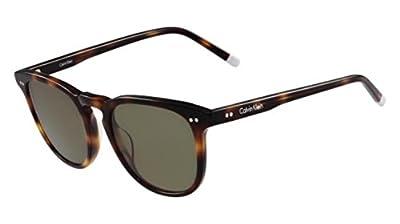 Calvin Klein Unisex Ck4321s Round Sunglasses, Tortoise, 51 mm