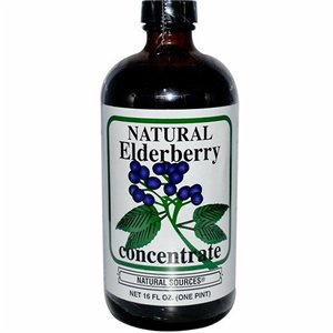 CONCENTRATE,ELDERBERRY pack of 6 by Natural Sources