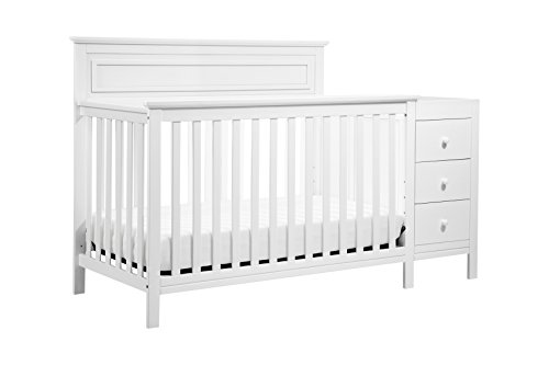 DaVinci Autumn 4-in-1 Crib & Changer Combo, White for sale  Delivered anywhere in USA