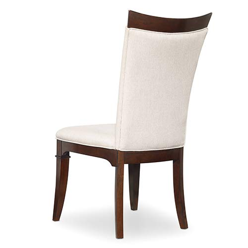 Hooker Furniture Palisade Upholstered Dining Chair in Walnut and Taupe by Hooker Furniture