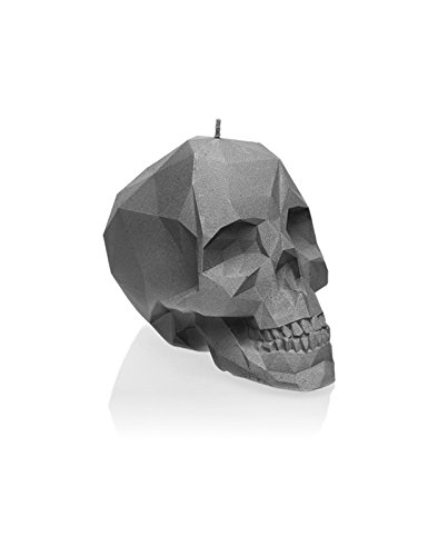 Candellana Candles Small Skull, Gray by Candellana Candles