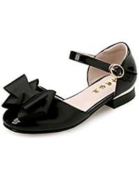 4e8bf980bb647 Little Girl s Heel Sandals Ballet Dress Shoes(Little Kid Big Kid)