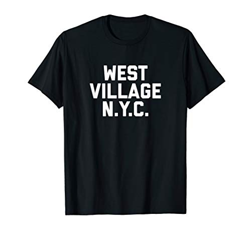 (WEST VILLAGE NYC T-Shirt New York City tee)