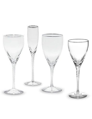 Lenox Encore Platinum Iced Beverage Stem Glass, Clear by Lenox